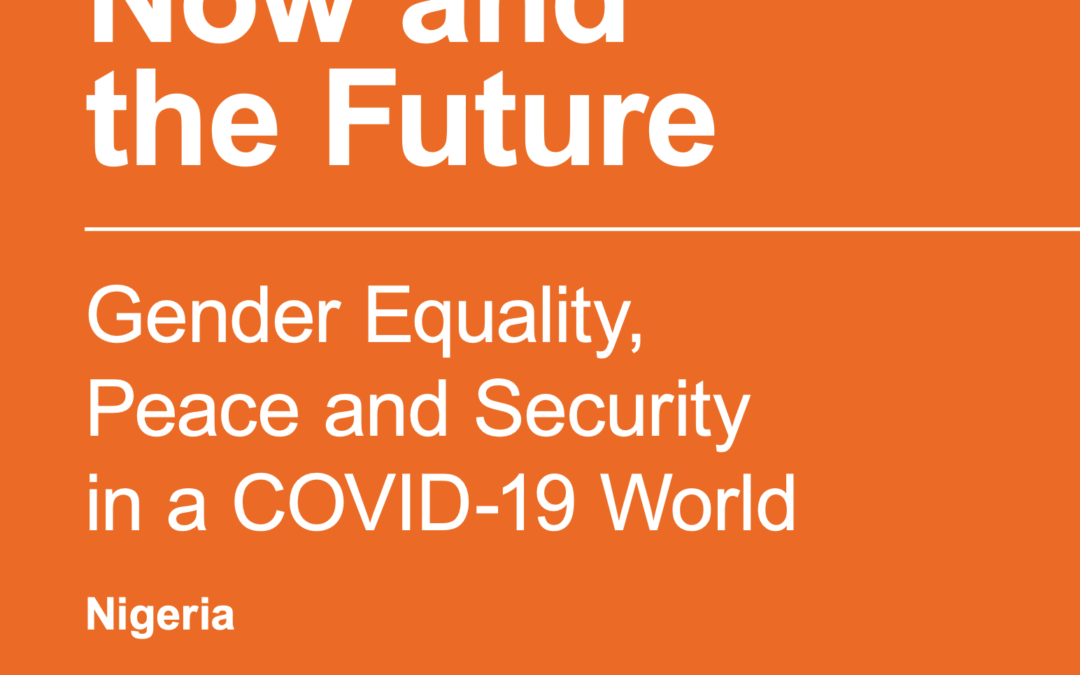 Gender Equality,Peace and Securityin a COVID-19 World
